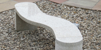 S Shaped Bench